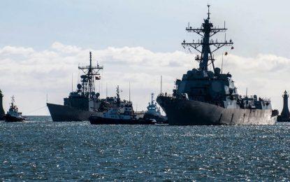 НАТО изпраща бойна техника и войници в Прибалтика