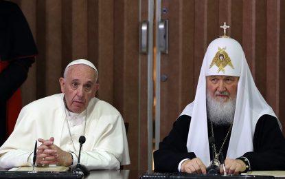 Руският патриарх заговори за риск от голяма война