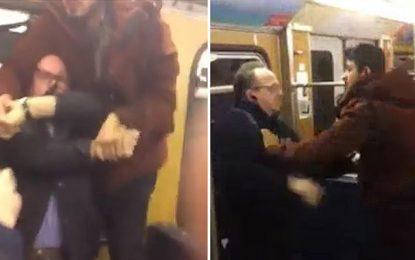 Пенсионери бранят жена от бежанци в Мюнхен