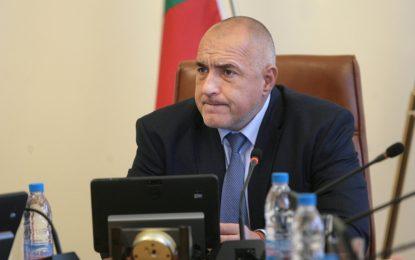 Борисов свикал министрите в края на изборния ден