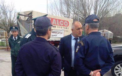 Борисов взе присърце блокадата на гръцката граница
