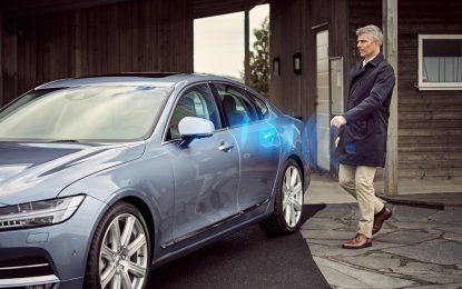 Volvo вече се отключва и пали със смартфон