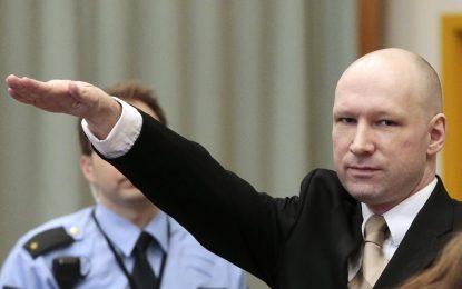 Брайвик осъди Норвегия за лошо отношение