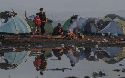 Случай на хепатит в бежанския лагер край Идомени