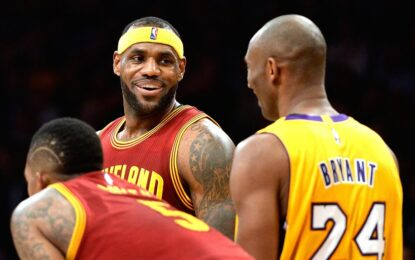 Избрано от НБА: Коби и ЛеБрон се изправиха един срещу друг за последен път
