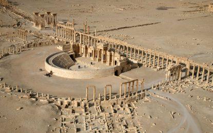 Руски военни разминират Палмира