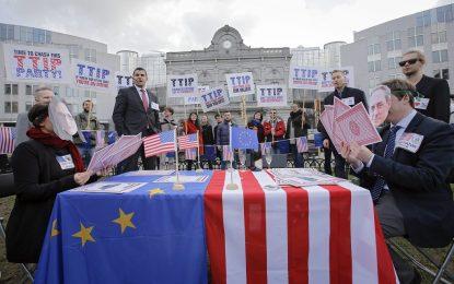 ТТИП дава власт на САЩ да крои законите в ЕС