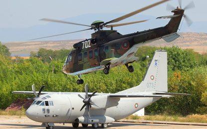 Военната прокуратура разследва как изгоряха самолети в Крумово