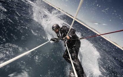 Да яхнеш хвърчило на 85 метра над водата