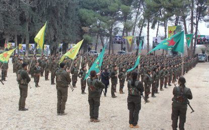 Кюрдите правят Федерация Северна Сирия