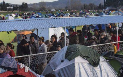 Македония вече пуска само бежанци от градове във война