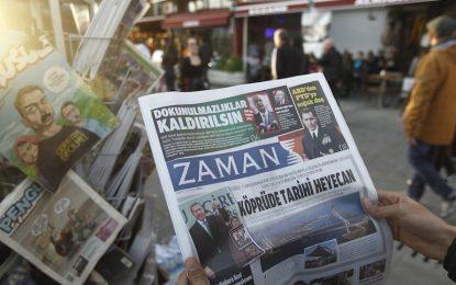 """""""Заман"""" от опозиционен в проправителствен за един ден"""