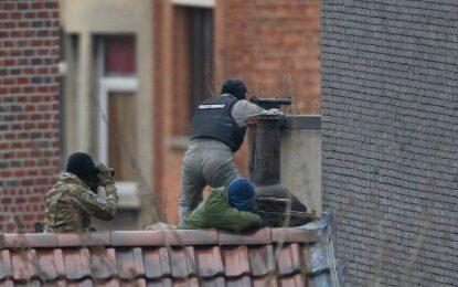 Алжирец е убит в рейда в Брюксел, двама се издирват