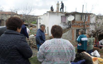 Кметска къща изгоря заради надпис на турски език