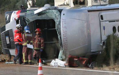 Катастрофа уби 13 студенти в Испания, българка е сред ранените