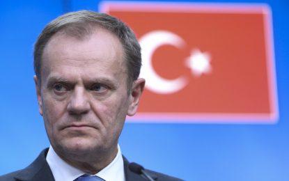 Туск обяви края на преселението към Европа