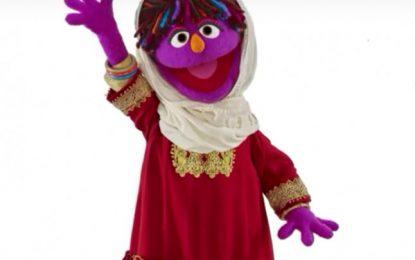 """В """"Улица Сезам"""" се появи момиченце в хиджаб"""
