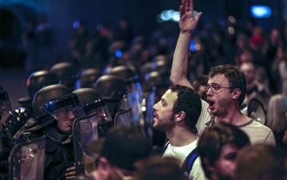 Пета нощ на протести в Македония