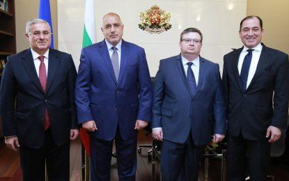 Главният прокурор на Турция се видя с Борисов