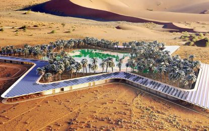 ОАЕ създават най-зеления оазис за богати туристи