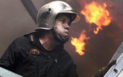 """Пожар след удар на ТИР в бензиностанция на """"Тракия"""""""