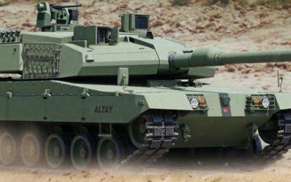 Турция пуска свой танк Altay