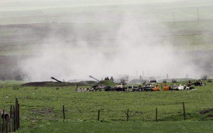 Азербайджан спира огъня, арменците отричат