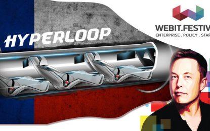 Webit представя Hyperloop на Илон Мъск в България