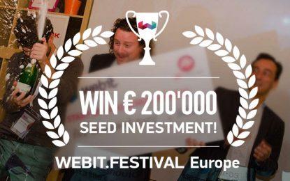 Стартиращи бизнеси ще се борят за €200 000 на Webit Festival