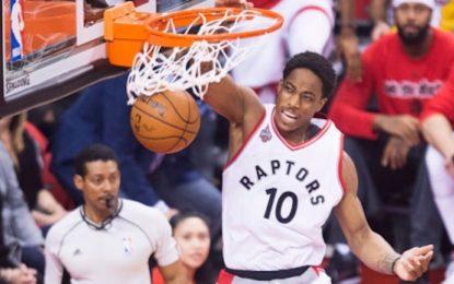 """Избрано от НБА: """"Раптърс"""" обърнаха """"Пейсърс"""" и поведоха в серията"""