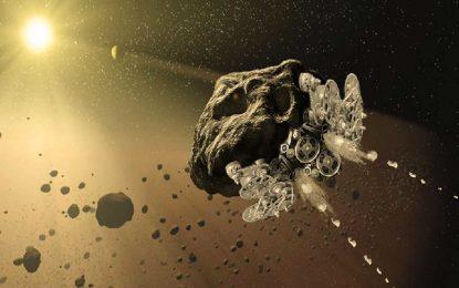 НАСА ще прави от астероид космически кораб