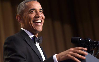 Обама изнесе последно шоу за журналистите в САЩ