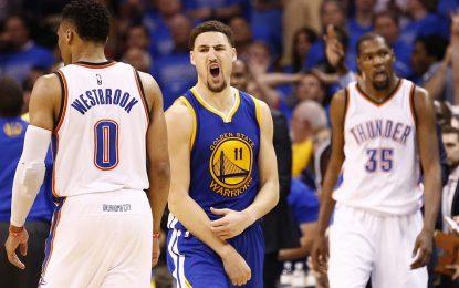 """Избрано от НБА: Клей Томпсън наказа """"Тъндър"""" с рекордните 11 тройки"""