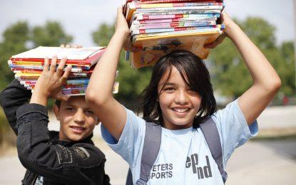 Децата на войната са гладни за училище