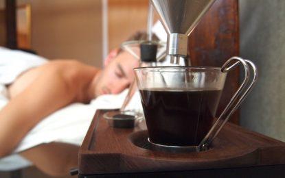 """Будилник """"звъни"""" с аромат на кафе"""
