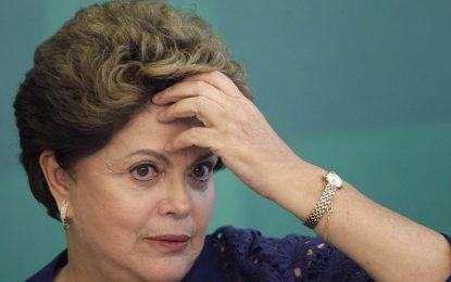 Дилма Русеф на съд, Бразилия с и.д. президент