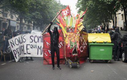 Бунтовете във Франция срещу трудовата реформа не стихват