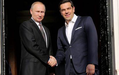 """Путин """"носи"""" газопровод на Гърция"""