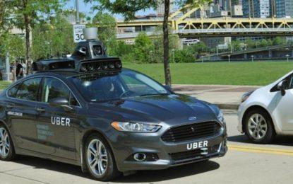 Uber също разработва безпилотна кола