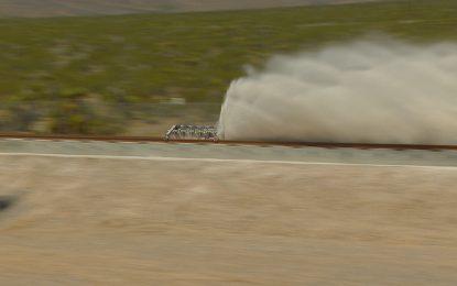 Първи тестове на Hyperloop в Невада