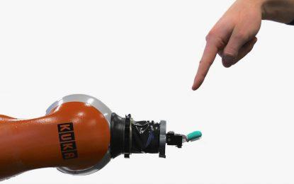 Роботи се учат как боли