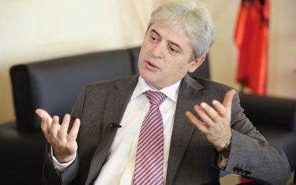 Албански лидер отхвърли федерализация на Македония