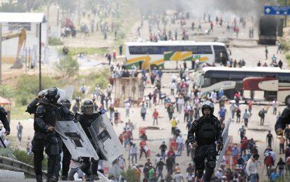 Учителски протести в Мексико взеха шест жертви