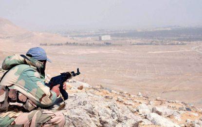 """И сирийската армия настъпва в сърцето на """"халифата"""""""