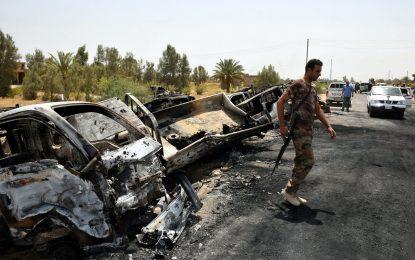"""Стотици от """"Ислямска държава"""" загинаха, бягайки от Фалуджа"""