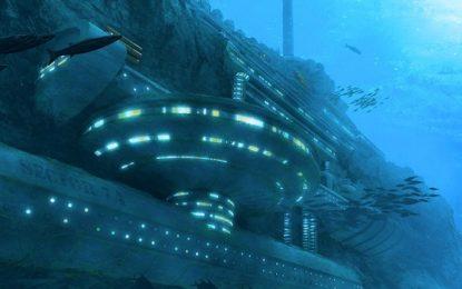 Китай строи база на 3000 метра под водата