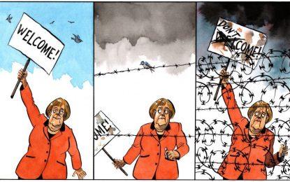 Меркел вади ятаган за вътрешна употреба