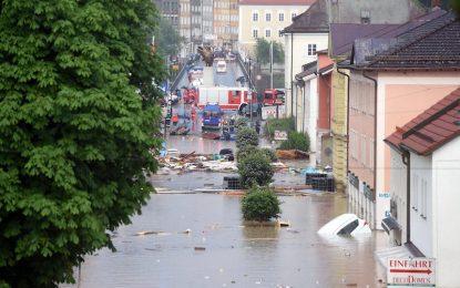 Наводнения взеха жертви в Германия и Франция