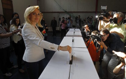 ТВ водеща става кмет на Букурещ