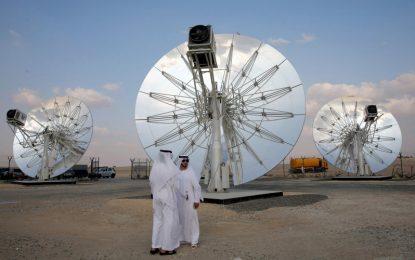 Дубай строи най-голямата слънчева централа за ток в света